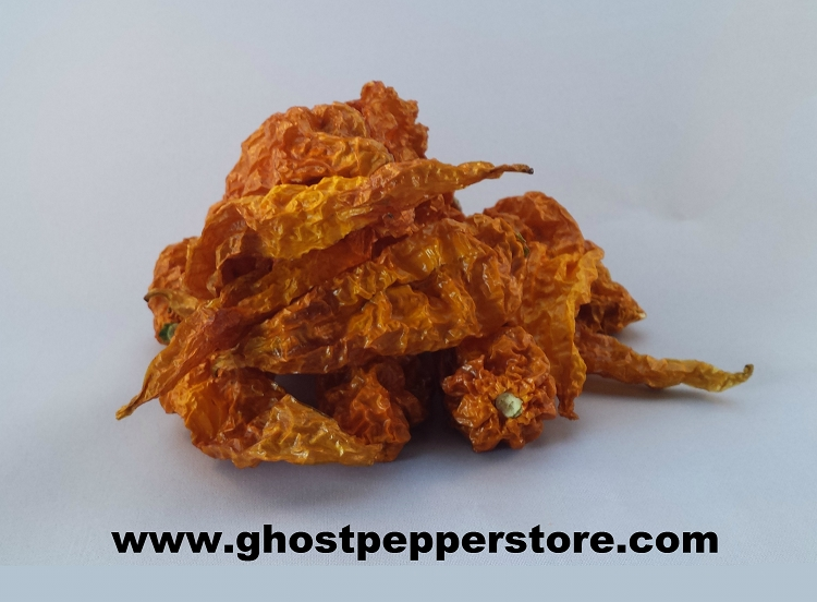 dried yellow ghost peppers 1 oz