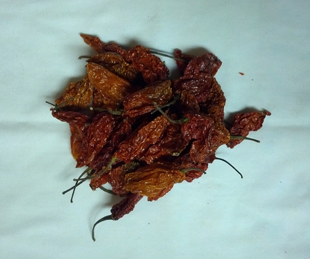 dried red ghost peppers 1 oz